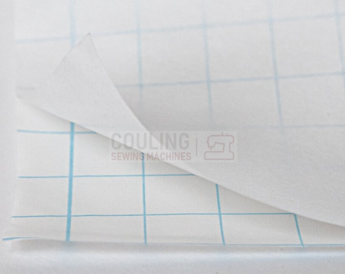 Filmoplast Embroidery Stabiliser Sticky Self Adhesive Backing 50cm x 2m