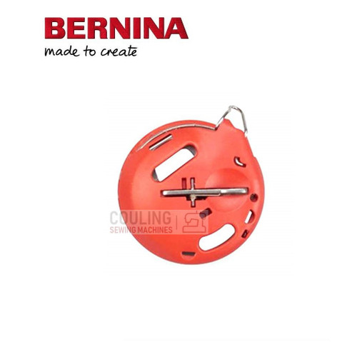 Bernina New Series RED BOBBIN WORK Bobbin Case 720 740 770QE 790 + NEW 4/5 Series S570