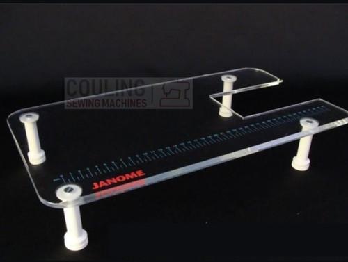Janome Machine Extension Table Plexi CMX30 SL30X CXL301 8077 DC3050