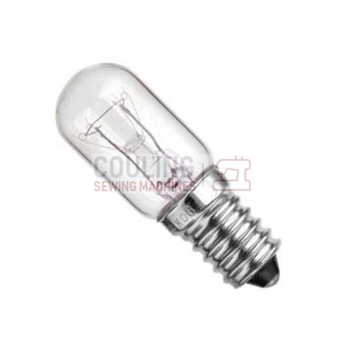 Sewing Machine & Overlocker Light Bulb Screw Type E14 240v 15w