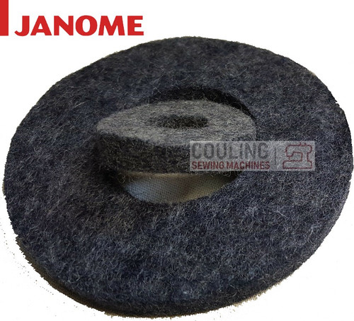 Janome Large Grey Felts for MB4 MB7 Both Part 770364003 + 770406008