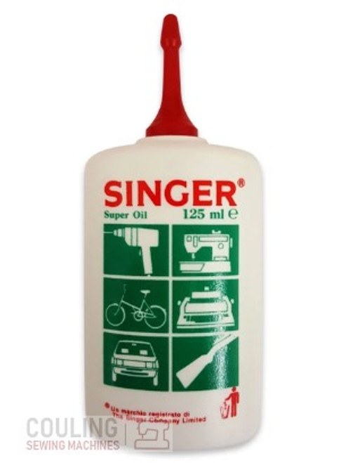 Singer Sewing Machine Super Fine Oil 125ml Bulk x 5 Bottles