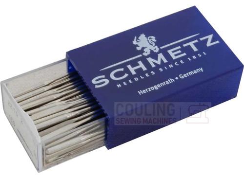 Schmetz Sewing Machine Needles Embroidery H-E (Box of 100) Size 90/14