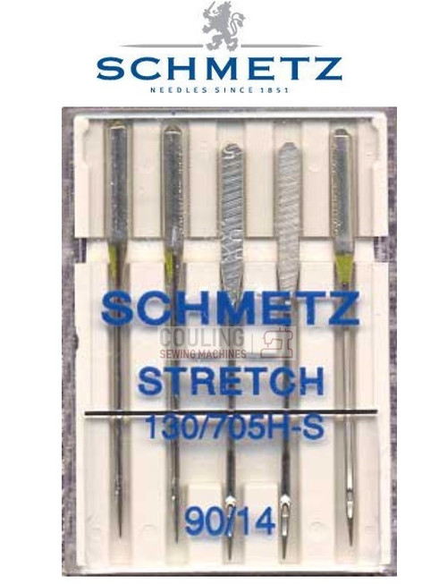Schmetz Sewing Machine Needles Stretch H-S Size 90/14