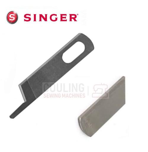 SINGER Overlocker Blade Knife Upper & Lower Set Models 34A 134 234 344 454 +