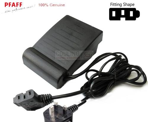 PFAFF FOOT CONTROL PEDAL - 2 Speed - Select 2.2 3.2 4.2 GTC-3 413116008