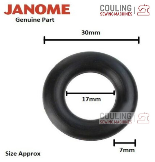 JANOME Bobbin Winder Rubber - LARGE - Fits Most Janome Machines