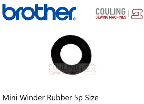 BROTHER Bobbin Winder Rubber - MINI SMALL - Fits Some Brother Machines X55238021