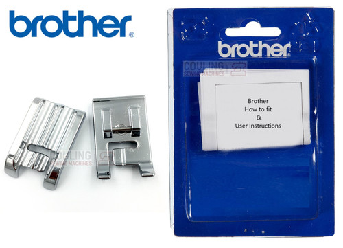 BROTHER Double 6mm Piping Foot F067 7mm - XF2860001