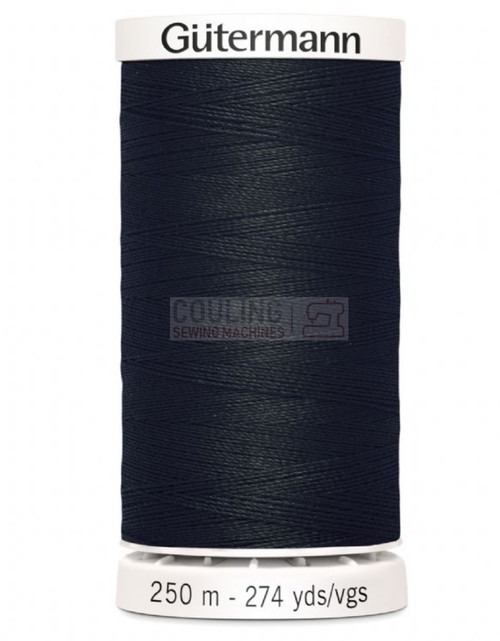 Gutermann Sew All Standard Thread 250m - BLACK 000