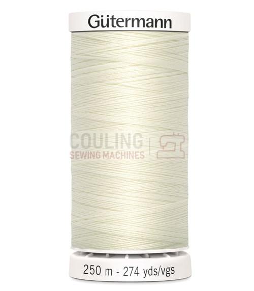 Gutermann Sew All Standard Thread 250m - IVORY 1