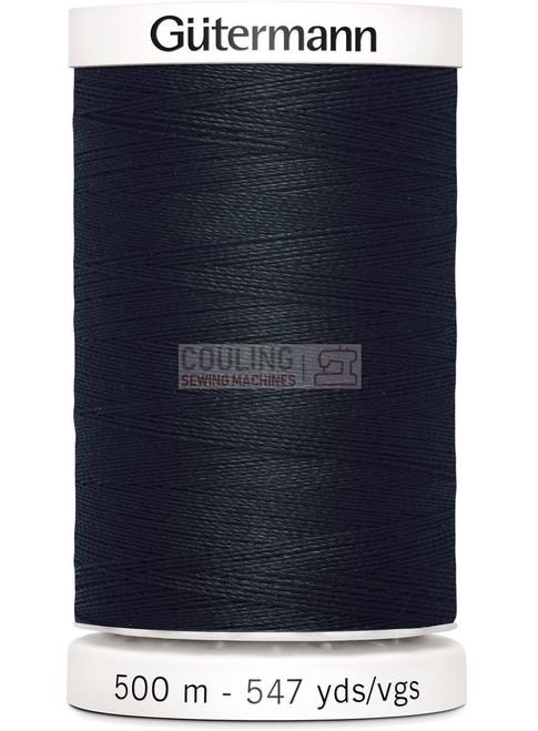 Gutermann Sew All Standard Thread 500m - BLACK 000