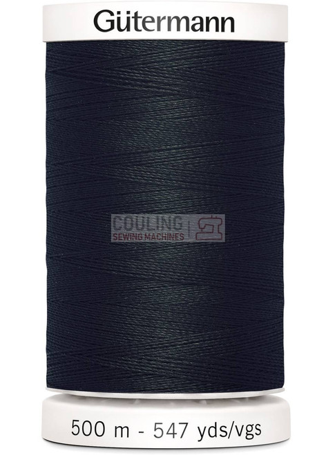 Gutermann Sew All Standard Thread 500m - BLACK 000
