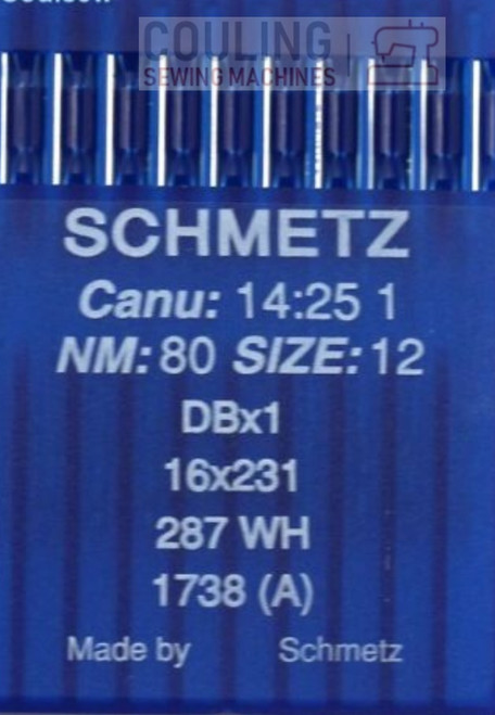Schmetz Industrial Needles Round Top 16x231 DBx1 - 10 x Regular Size 80/12