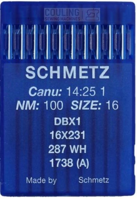 Schmetz Industrial Needles Round Top 16x231 DBx1 - 10 x Regular Size 100/16