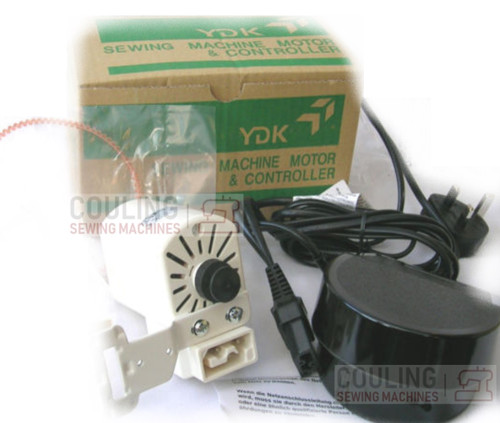 Sewing Machine Motor & Foot Control Kit - YDK with Belt and Bracket