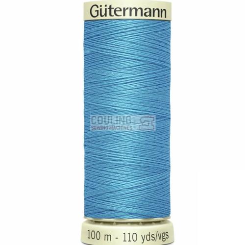 Gutermann Sew All Standard Thread 100m - SKY BLUE 197
