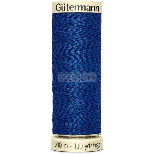 Gutermann Sew All Standard Thread 100m - ROYAL BLUE 214