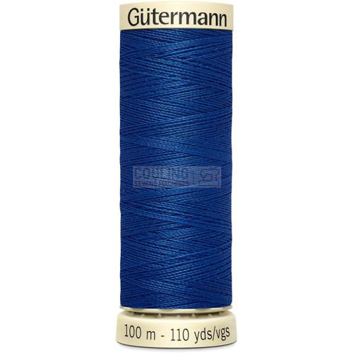 Gutermann Sew All Standard Thread 100m - ROYAL BLUE 214