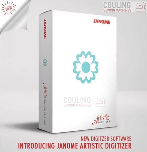 Janome Artistic Digitizer New Software Full Version