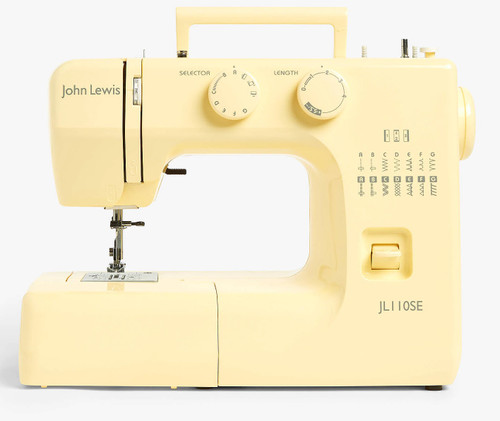 JOHN LEWIS JL110SE - YELLOW - SEWING MACHINE BY JANOME * EX DEMO * 1 YR GUARANTE