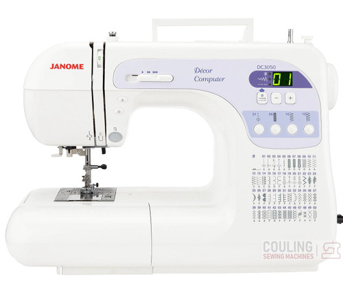 JANOME DC3050 DM SEWING MACHINE * EX DEMO * 1 YR GUARANTEE