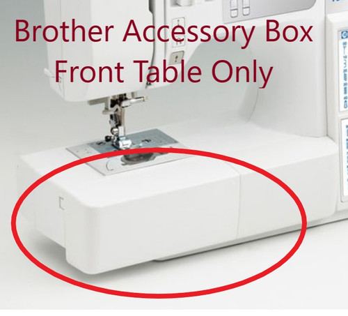Brother Accessory Box Front Table FS130QC FS40 - XG0650001