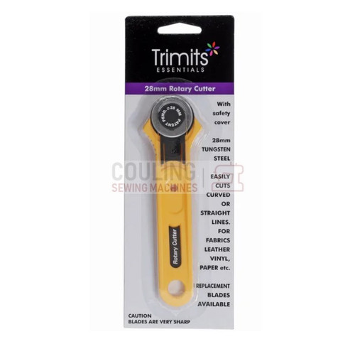 28mm Rotary Cutter Safety blade lock Cuts multiple layers of fabric