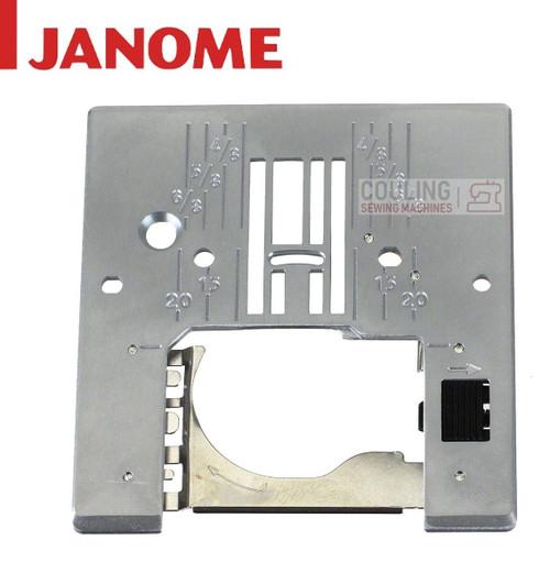 JANOME STANDARD NEEDLE PLATE CXL301 MC4800 8077 DC3050 + 756604107