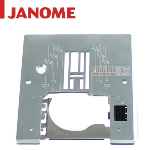 Janome Standard Needle Plate - 5024 5124 4623 4618 3123LE 2522LE + 754636102