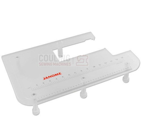 "Janome Machine Extension Table Plexi 12"" X 19"" Atelier 3, 5, 7, 9  MC9900 861401215"