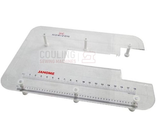 "Janome Machine Extension Large Table Plexi 24"" x 16"""" MC7700QCP MC8900QCP MC8200QC 489710007"