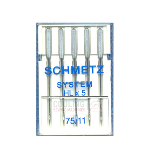 Schmetz Pro High Speed Sewing Machine Needles HLx5 Size 75/11