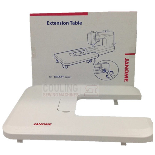 """Janome Machine Extension Large White Table 1600p & HD9 (16"""" x 24"""") (499701006"""