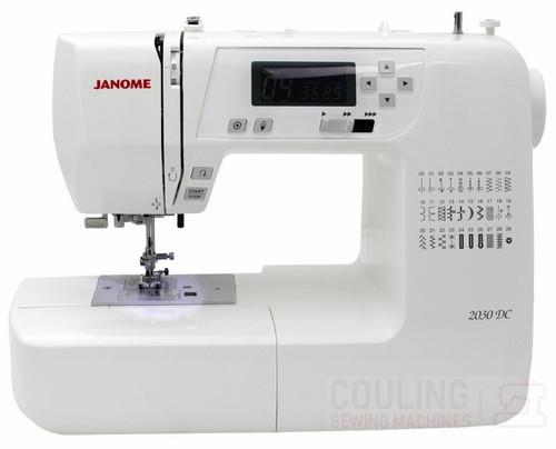 Janome 2030DC Sewing Machine - 30 Stitch Computerised