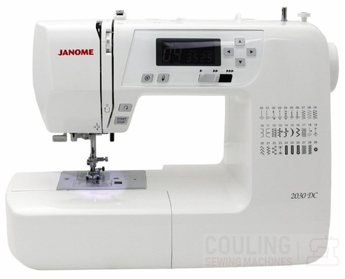 Janome 2030DC Sewing Machine - 30 Stitch Computerised