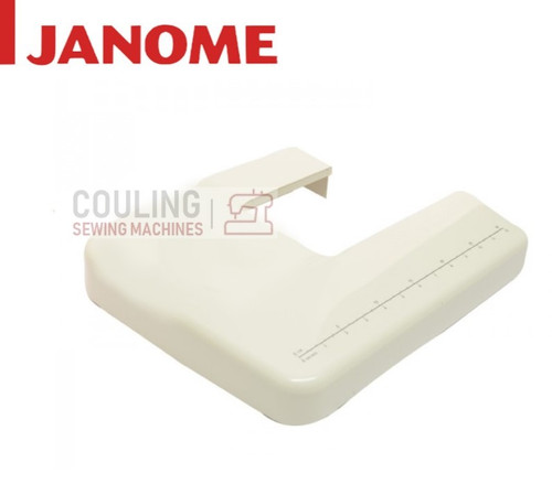 Janome Machine Small White Extension Table - Jem Gold 660, Platinum JP720 & JP760 Only 660818003