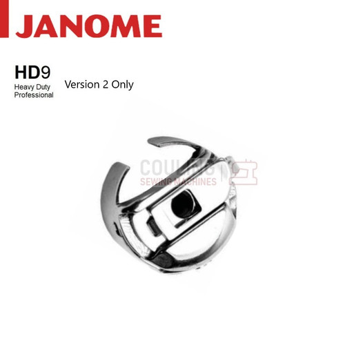 Janome Genuine Metal Large Bobbin Case HD9 Pro Version 2 767595005