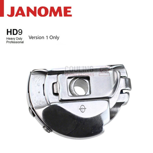 Janome Genuine Metal Large Bobbin Case HD9 Pro Version 1 767588005