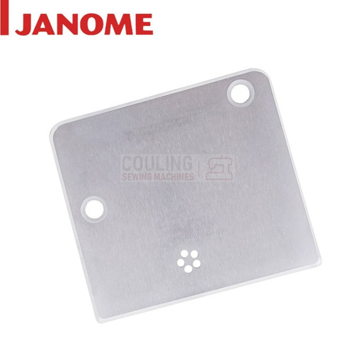 Janome Standard Metal Needle Plate for FM725  Xpression Embellisher Felting Machines