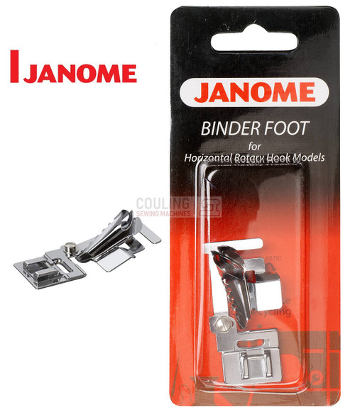 JANOME BIAS BINDER FOOT - 200313005 -  CATEGORY B & C - OPENED PACKET
