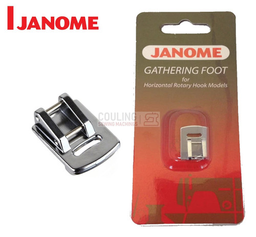JANOME GATHERING FOOT - 200315007 -  CATEGORY B & C - OPENED PACKET