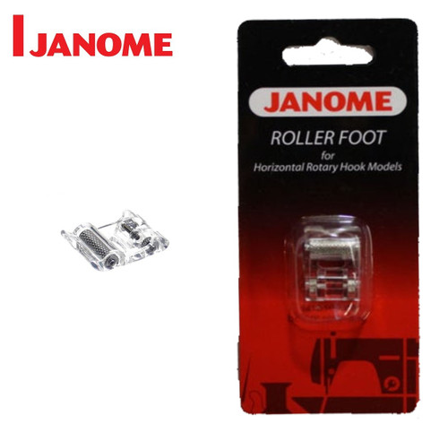 JANOME ROLLER FOOT - 200316008 -  CATEGORY B & C - OPENED PACKET