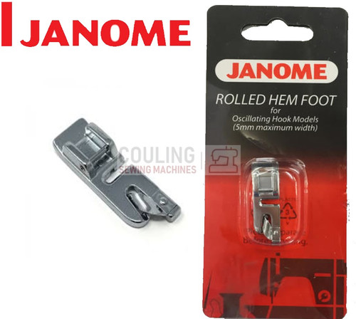 JANOME ROLLED HEM FOOT 2mm - 200128001 - CATEGORY A