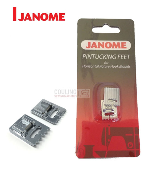 JANOME PINTUCKING FEET - 200317009 -  CATEGORY B & C - OPENED PACKET