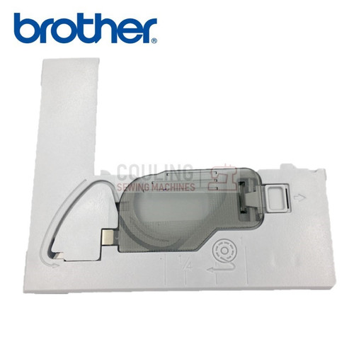 BROTHER GENUINE NEEDLE PLATE B Plastic Part Innov-is NV 10a,15,20,27SE,30,35,50,55,55SE  XD0354251