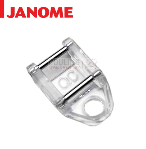 JANOME CLOSED TOE FREE MOTION QUILTING FOOT QC - 859836009 9mm CATEGORY D