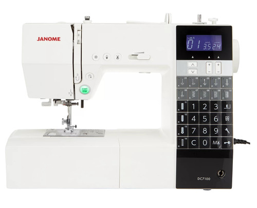 JANOME DC7100 SEWING MACHINE - Ex-demonstration