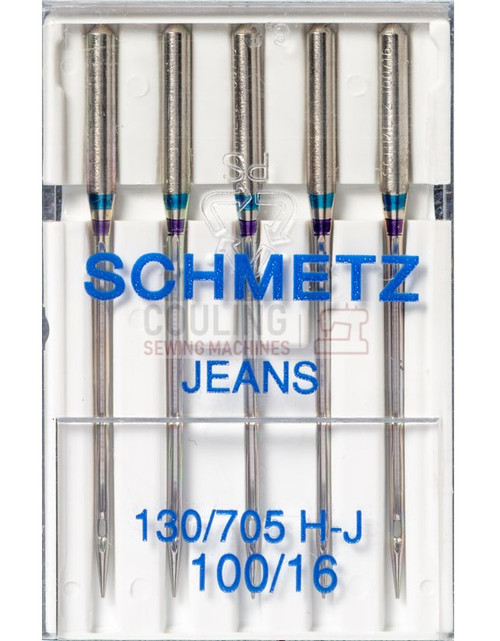 Schmetz Jeans Denim Sewing Machine Needles Size 100/16