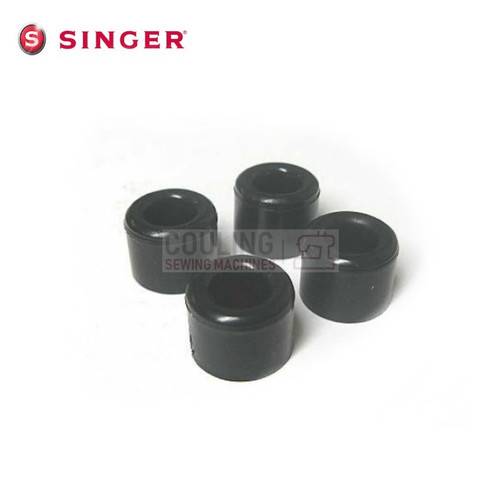 Set of 4 Singer Sewing Machine Base Rubber Feet Older 300 400 500 600 SERIES 221K